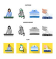 laundry and clean logo set vector image vector image