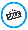 Sale Signboard Flat Rounded Icon