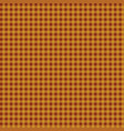 simple background of yellow and brown plaid vector image