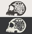 Skull Logo Set vector image vector image