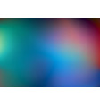 blurred abstract colors background vector image vector image