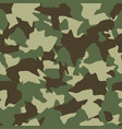 camouflage seamless pattern green brown olive vector image vector image