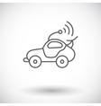 Car toy vector image vector image