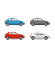 collection web icons car and set vector image vector image