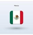 Mexico flag icon vector image
