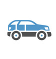 vehicle flat icon vector image