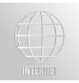 Worldnet the Internet vector image