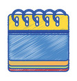 calendar information to organizer event day vector image vector image