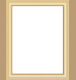 golden framework vector image