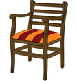 Old chair vector image