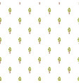 pine tree pattern seamless vector image