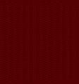 rib knit pattern vector image vector image