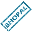 Bhopal rubber stamp vector image vector image