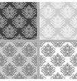 Ethnic textile seamless pattern collection vector image vector image