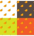 flat carrots seamless pattern vector image vector image