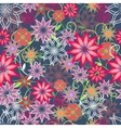 Floral background seamless vector image vector image