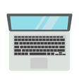 Laptop computer isolated vector image vector image
