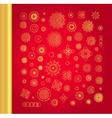 Ornamental gold oriental mandala set vector image vector image