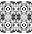 seamless pattern african style art batik ikat