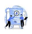 software testing abstract concept vector image vector image