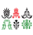 pattern and ornament vector image
