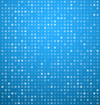 Circles blue technology pattern vector image vector image