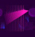 cyberpunk seamless pattern retro futurism vector image vector image