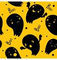 Ghosts Seamless Pattern vector image vector image