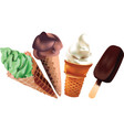 ice-cream illustration vector image