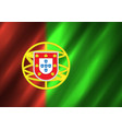 portugal flag background vector image vector image