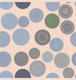 seamless abstract conceptual geometric circles vector image vector image