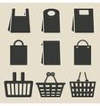 store bag set vector image vector image