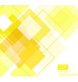 yellow square pattern wallpaper design-01 vector image vector image