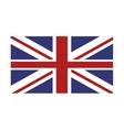 union jack great britain flag icon vector image