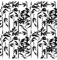 asian bamboo chinese art seamless pattern vector image
