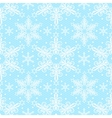 Christmas lace pattern vector image vector image