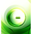 eco-friendly sphere background vector image vector image