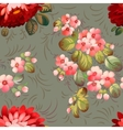 Floral textile seamless pattern in Russian vector image vector image