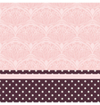Lace ornament pattern vector image vector image