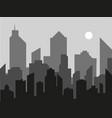 modern city landscape background city vector image vector image