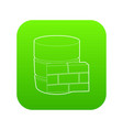 not available database icon green