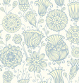 Seamless nature pattern vector image vector image