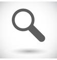 Search single icon vector image vector image