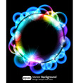 neon light gradient effect vector image