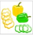 bell pepper vector image