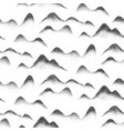 chinese mountain art abstract seamless pattern vector image