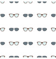 eyeglasses collection pattern vector image