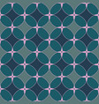 geometry classical seamless pattern with vector image vector image