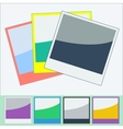 Photo Frames Flat Style vector image vector image