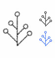 plant composition icon spheric items vector image vector image